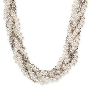 Sugarfix by Baublebar Multi Strand Pearl Necklace